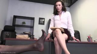Mesmerized Pantyhose Foot Worship Casey Calvert Serena Blair Star Nine TSR