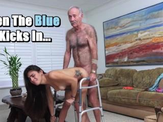BLUE PILL MEN - Michelle Martinez Fucked By Geriatric Stud
