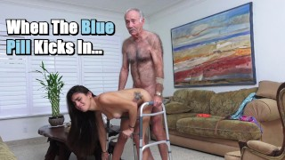 BLUE PILL MEN – Michelle Martinez Fucked By Geriatric Stud