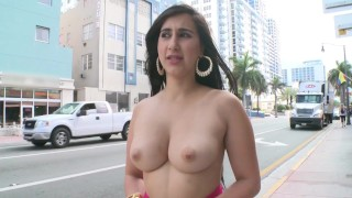 BANGBROS – Curvy Latina Valerie Kay Showing Off Her Big Ass In Public