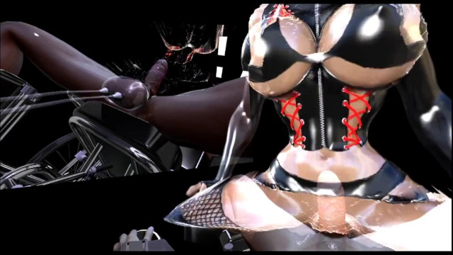 Cum twice with ems - Sfm 3d vr sissy training post orgasm cum again multiple times
