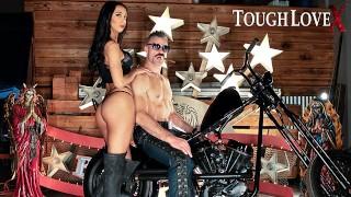 TOUGHLOVEX Kiarra Kai drops her panties for Karl