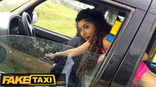 Fake Taxi Asian Marina Maya gets a taste of a Big Black Cock