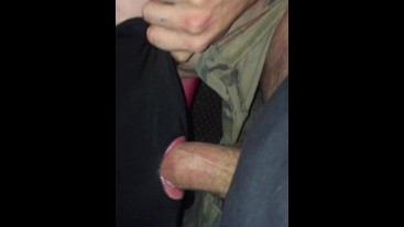 "9"" tattooed lad, facefucked and wanked off."
