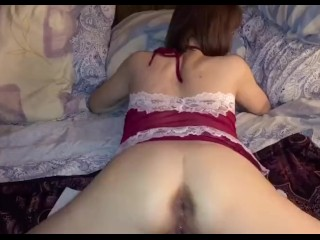 POV Mature mommy love's Anal & Anal creampie