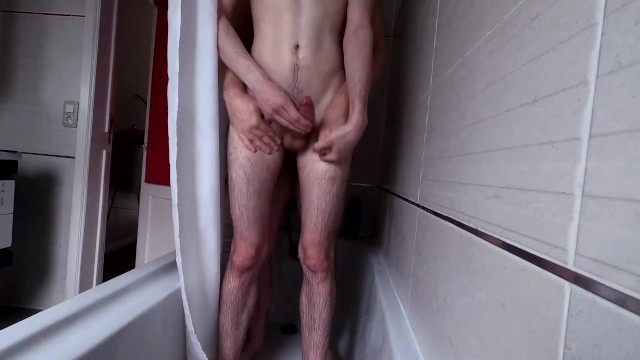 Hot young gay models Hot young hung twink being fucked bareback in the shower