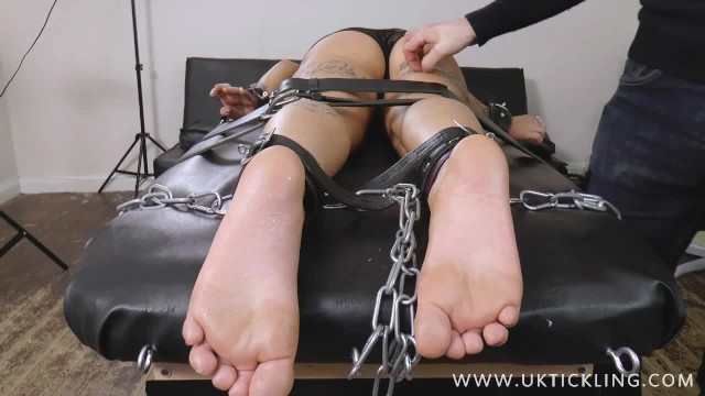 Cock band uk Jade s tickled face-down