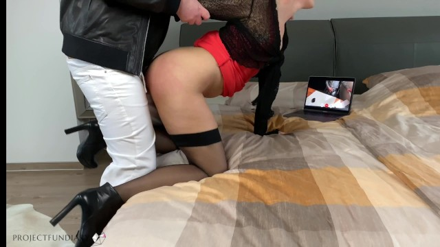 First time on video sex - First time cuckold with husband via facetime short version stayhome