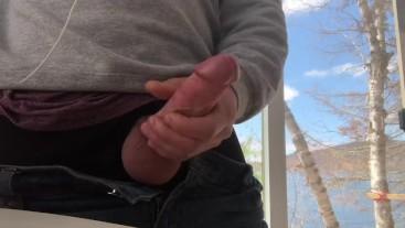 Dirty talk cum for me motivation stroking huge cock