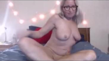 Pleasuring myself anally with my dildo