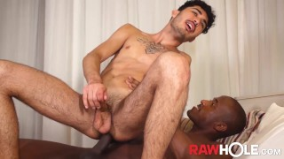 RAWHOLE Brazil Twink Yghor Ricardo Blows BBC Before Pounding