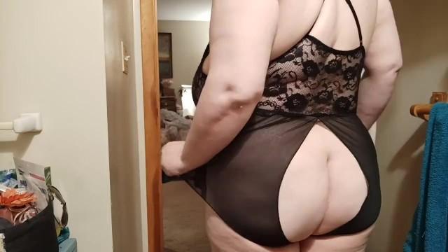 Peekaboo lingerie Black peekaboo lingerie bbw huge boobs sexy pawg thicc booty