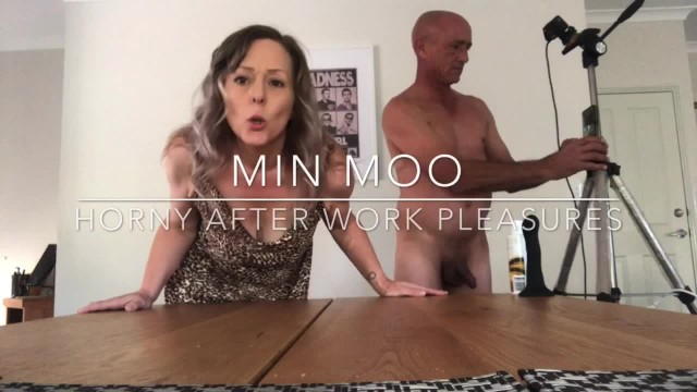 She got fucked Hard strapon fuck - she got fucked too full length up now - min moo
