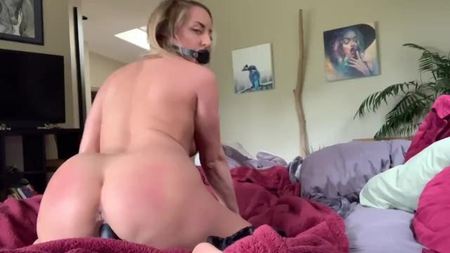 River bondage Schoolgirl slut punished for trying to seduce professor - gagged spanked