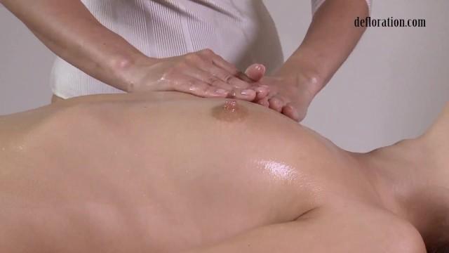 Jankovska Gets her Orgasm Massage for first Time