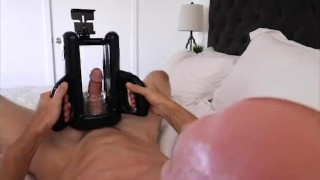 JohnnySins - Self Isolation Jerk Off Machine