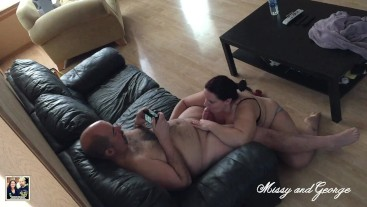 Married Couple Private Blowjob Video - (Missy and George Blowjob & Facial)
