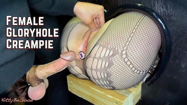 Female erotica Butt plug insertion huge creampie female gloryhole