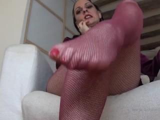 Femdom pov/teacher feet/mistress lady teacher strict