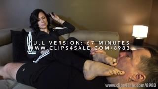 Polina's Sweaty Feet Challenge - (Dreamgirls in Socks)