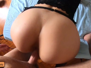 You Promised Me Not To Cum Inside My Pussy!!! Amateur Creampie