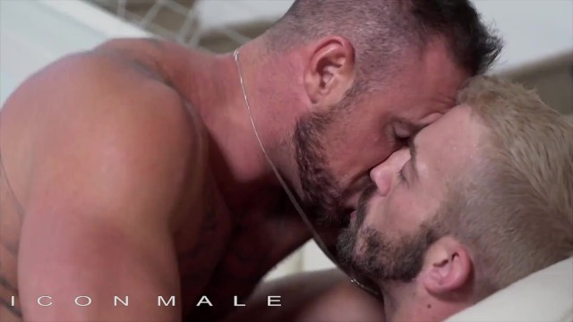 Michael rozman gay porn Iconmale - sexy jett rink bangs michael romans ass on couch