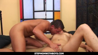 StepmomWithBoys – Lucky Stepson Fucks His Gorgeous Stepmom