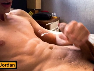 HOT GUY MOANING AND SHAKING ORGASM WITH DIRTY TALK – HD