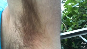 Giant Doms Shrunken Homo With His Hairy Pits POV