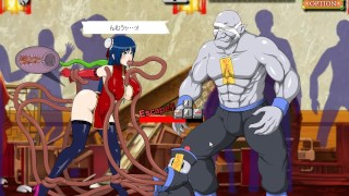 Kung Fu Girl [Random Hentai Game] pounded by ton of monster cock
