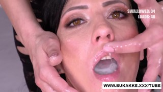 Glory Hole Dick Swallower get's Facial in BTS - bukkake.xxx