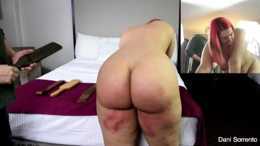 Real Discipline: Taken To Tears Twice, Part 3- A Dani Sorrento spank clip