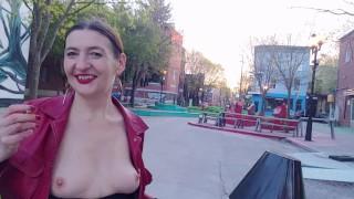 Nejlepší porno sledovat - Vdechněte 31 Kouření Fetišů A Městského Nudismu Od Gypsy Dolores