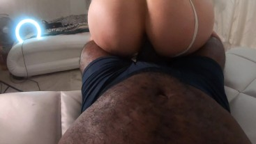 Brunette Deep Throat Makes My Dick POP