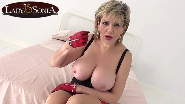 Mature adies How long will you last with big tit mature lady sonia