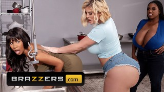 Brazzers - Crazy Hot Threesome With Jenna Foxx, Julie Cash & Maserati