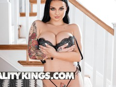 Reality Kings - Tattooed Payton Preslee takes Manuel Ferrara's big cock