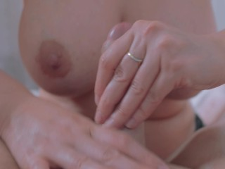 WONDERFUL MILF BIG TIT MAKE HAND JOB THE BOSS (ARMPITS LOVER)2020