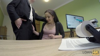 LOAN4K. Teen chick needs business loan but should work hard for it