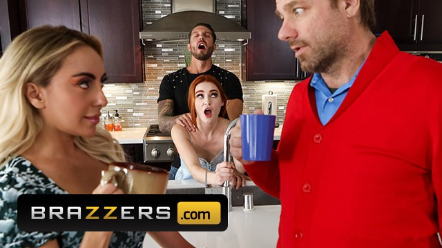 James tit or Brazzers - redhead beautifull babe lacy lenon get her pussy pounded