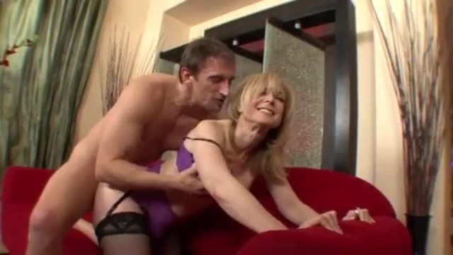 Nina hartley fisted Old milf is fucking a young steward