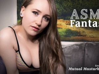 ASMR Fantasy - Mutual Masturbation & Squirting With Lizzie Love