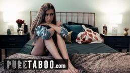 PURE TABOO Stepmom Offers Hesitant Teen to Lesbian Boss to Keep Job