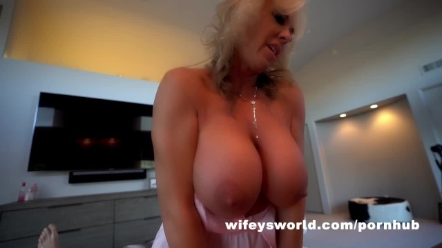 Wifey finds sluts for her hubby Wifey cheats with cocksman while hubby is away