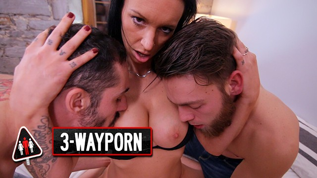 3-Way Porn - Anal DP Squirting Threesomes