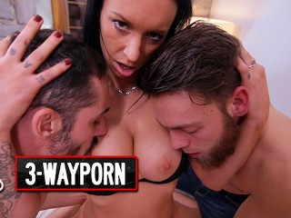 3-Way Porn – Anal DP Squirting Threesomes