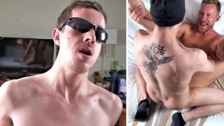 Skater's Raw Nut - Bareback Breeding - 3-way Fuck w/Cum as Lube