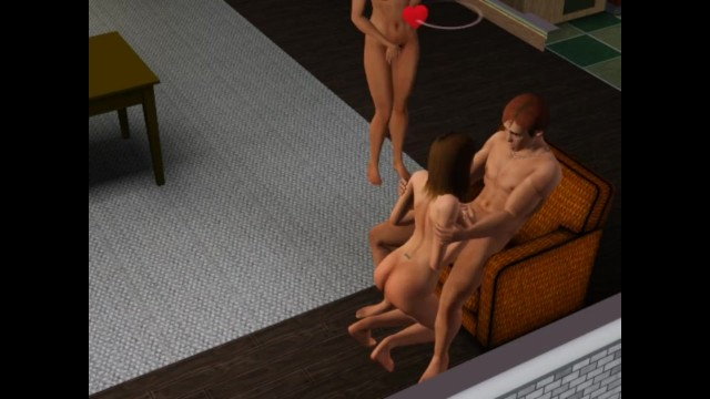 Sims 3 breast size Wife likes to watch me fuck other girls sims sex