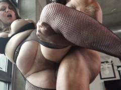 Estella Bathory DEEP ANAL RIDING & FACE FUCKING with BIG TRE's BBC