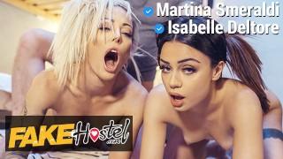 Fake Hostel Room Inspection for Isabelle Deltore and Martina Smeraldi